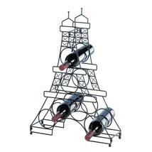 Wine Rack Iron, Decorative Wrought Iron Wine Rack Bottle Holder - $40.99