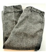 C.C Filson Garment Pants 100% Virgin Wool Grey Size 12 Excellent Condition - $98.99