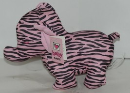 Baby Ganz Girl Pink Black Zebra Pattern Matching Gift Set image 2
