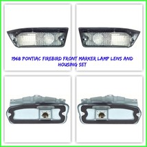 OER Front Park Lamp and Housing Set with Gaskets LH & RH 1968 Pontiac Fi... - $257.39