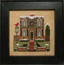 Christmas In The Colonies II holiday cross stitch chart Stitches Through Time  - $10.80