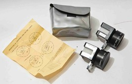 Vintage Qualide Disco Cámara Tele Conversión Ancho Lente para Kodak 8000 - $30.09