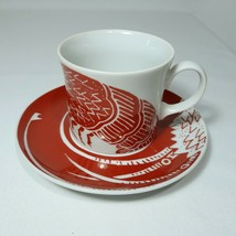1970s Mikasa Cathy Hardwick The Lobster Red Cup and Saucer Hard to Find - $14.84