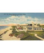 MARINELAND, Florida FL  DOLPHIN RESTAURANT & MARINE VILLAGE  ca1940's Po... - $5.85