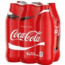 6 X Coca Cola Soda Pop - 710ml/ 24oz Each Bottles - Soft Drink - Fresh Canada - $10.84