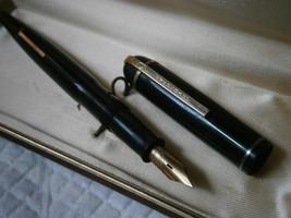 EVERSHARP SKYLINE PENNA STILOGRAFICA NERA E ORO 14K Fountain Pen Gold 14... - $95.26