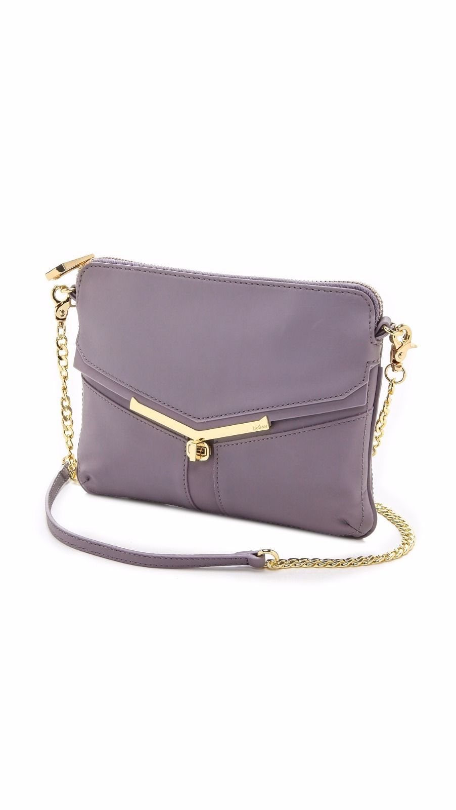 Primary image for Botkier Lavender Valentina Crossbody Bag Convertible to Clutch