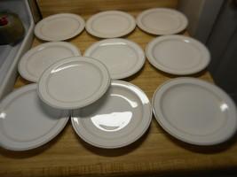 lot of 10 corning pyroceram plates - $39.55