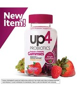 up4 Probiotic Gummies for Adults   Digestive and Immune Support   Gelati... - $15.03