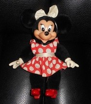 "10"" Vintage 1981 Applause Disney Minnie Mouse Peluche Muñeca de la Felpa... - $21.87"