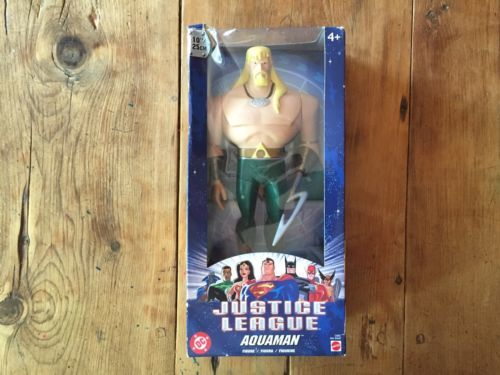 Primary image for DC Justice League 10inch AQUAMAN, 1'ST EDITION!