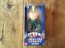 Dc Justice League 10inch Aquaman, 1'ST Edition! - $28.49