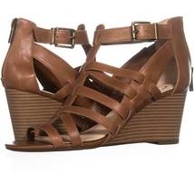 Jessica Simpson Cloe Wedge Sandals 970, Burnt Umber, 9.5 US / 39.5 EU - $28.79