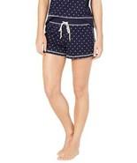 Jenni by Jennifer Moore Printed Pajama Shorts (Navy, S) - $20.00