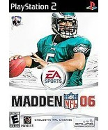 Madden NFL 06 Sony Playstation EA Sports Complete - $11.29