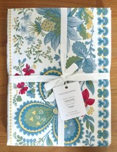 """NWT Williams Sonoma Berry Meadow Tablecloth White Provence 70"""" x 90"""" Fre... - $65.95"""