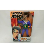 ACTION MAN DR.X 12 INCH ACTION FIGURE G.I.JOE TYPE ELECTRONIC BRAIN AND ... - $26.72