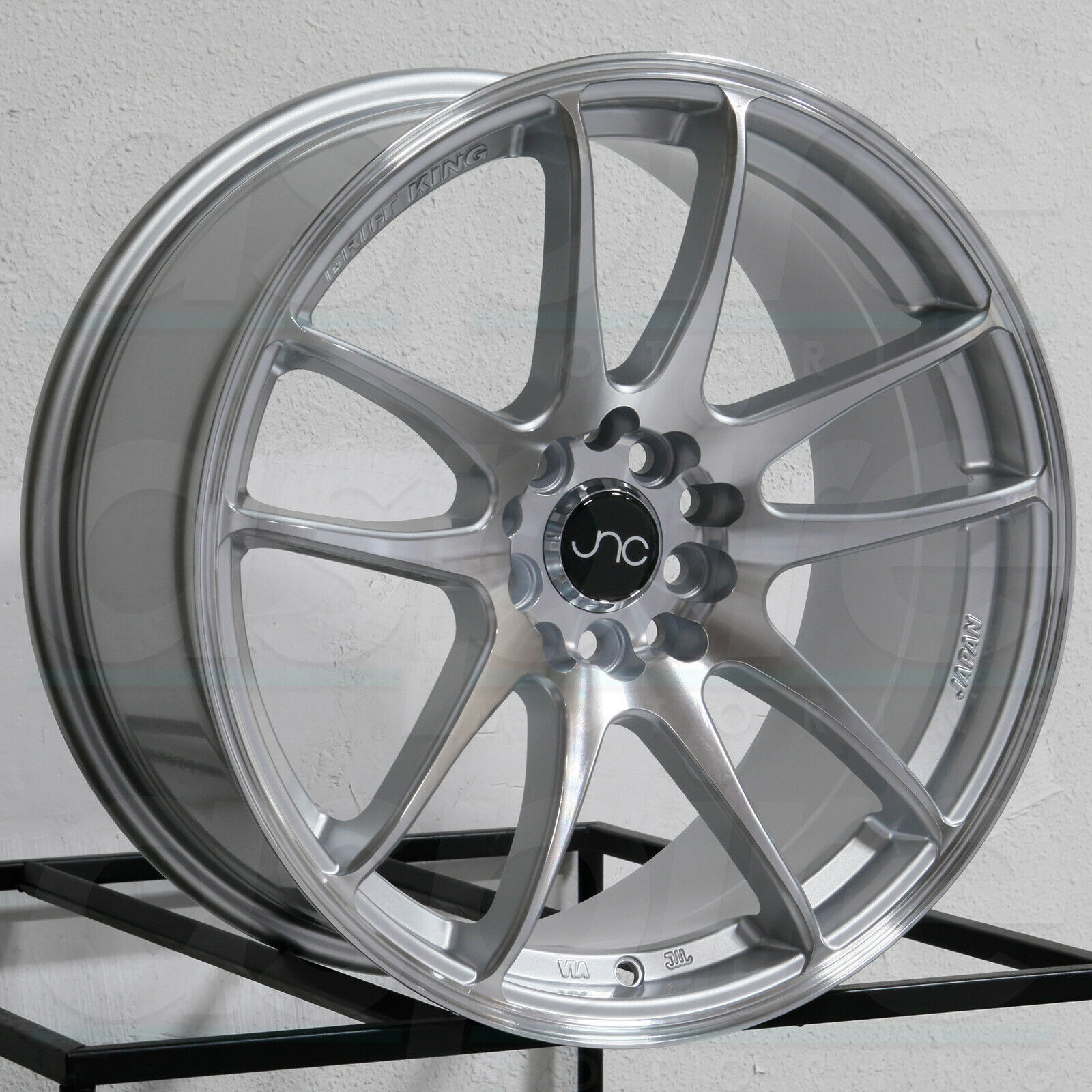 Primary image for 16x8.25 JNC 030 4x100/4x114.3 25 Hyper Silver Wheel New set(4)