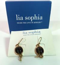 Lia SophiaPierced dangle earrings opened box  style 806 - $8.86