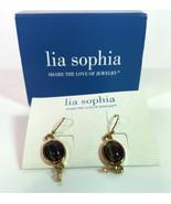 Lia SophiaPierced dangle earrings opened box  style 806 - $9.65
