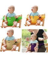 Infant Chair Portable Seat Dining Lunch Chair Seat Safety Belt Stretch Wrap - $9.95