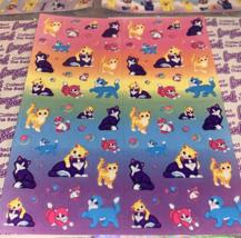 PICK 1*Lisa Frank Full Sticker Sheet Minis Kitten Dog Fruit Panda Peekaboo Koala image 5