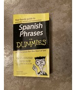 Spanish Phrases For Dummies - Paperback By Wald, Susana - $9.41