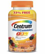 Centrum MultiGummies Adult 200 ct Natural Cherry, Berry, Orange Flavor.. - $35.63