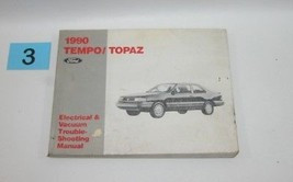 1990 Tempo Topaz  Electrical and Vacuum Trouble Shooting Service Manual USED 3 - $14.80
