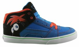 Etnies Disney Kids RVM Vulc Blue Black Shoes image 2