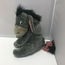 Walt Disney World Winnie the Pooh Grey Eeyore Soft Plush Stuffed Animal ... - $29.99