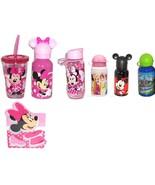 Disney Store Water Bottle Tumbler Mealtime Magic Minnie Mickey Princess  - $36.95