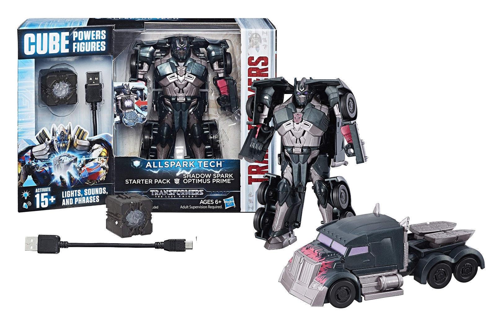 Transformers Allspark Tech Starter Pack Shadow Spark Optimus Prime [New] CUBE
