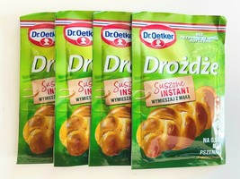 Dr.Oetker HEFE - Dry Yeast - Pack of 4-Made in Europe- FREE SHIPPING - $7.91