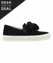 Nine West, Black Odienella Leather Sneakers, Sz 9.5 M - $34.65