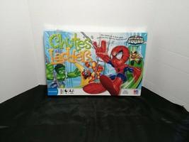 Chutes & Ladders Game Marvel Super Hero Squad Edition Milton Bradley 2008 Age 3+ - $30.00