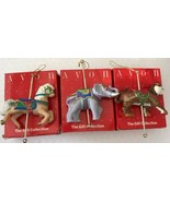 Avon Gift Collection Carousel Ornament REGAL ELEPHANT GALLANT STEED EXOT... - $26.72
