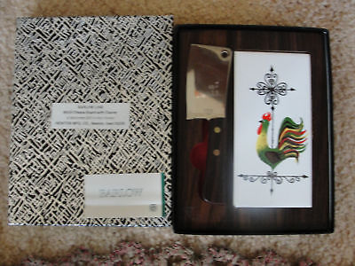 BARLOW LINE,M503 CHEESE BOARD & CLEAVER IN THE BOX