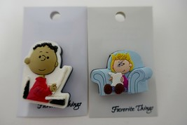Favorite Things Peanuts PVC Pin Lot ~ Franklin Sally - $9.49