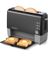 West Bend 77224 QuikServe Slide Through Wide Slot Toaster with Cool Touch - $49.68