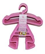 Bulk Buy Pink Girl Stick Figure Newborn Toddlers Hanger (5) Retail Ready... - $19.99