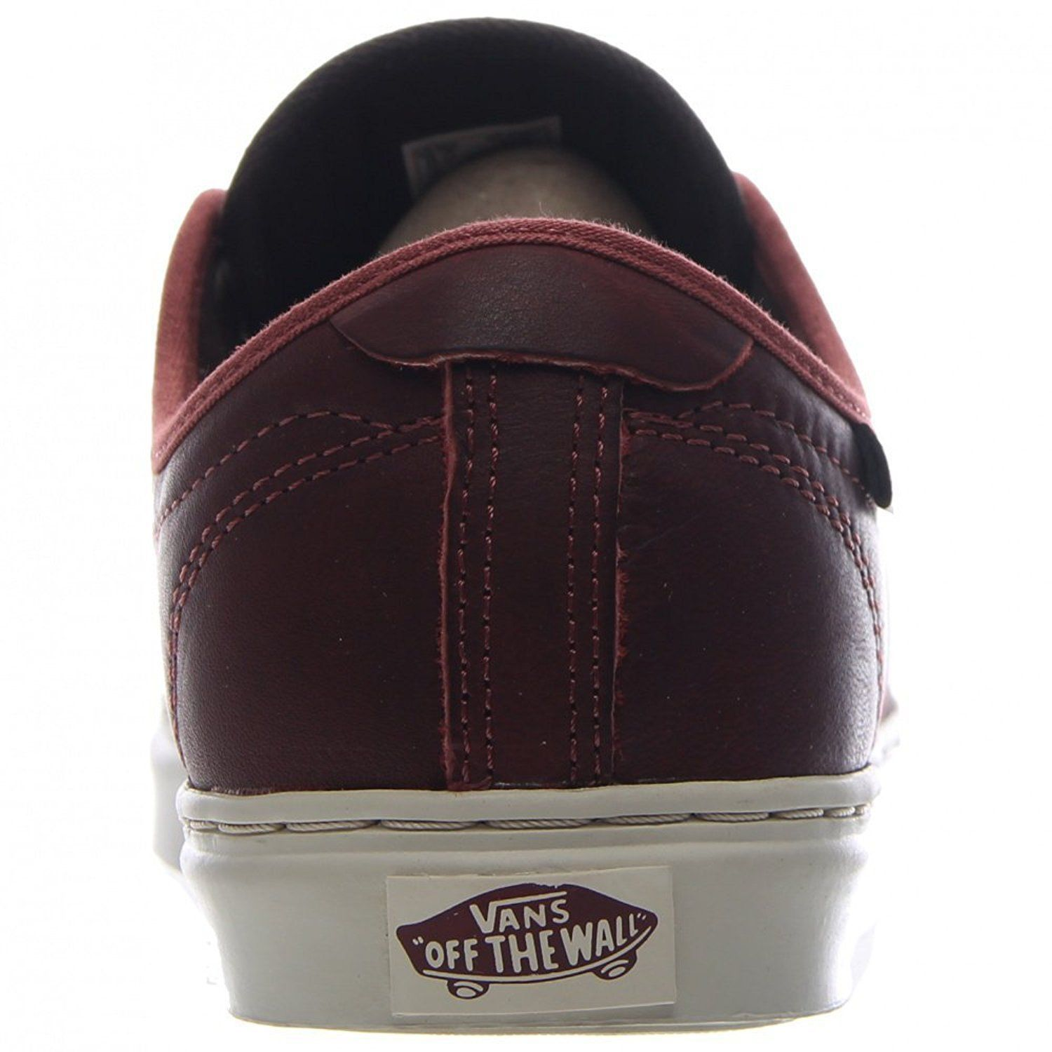 VANS OTW COLLECTION LUDLOW + LEATHER HENNA BROWN SHOES MENS SZ 7.5 BURGUNDY image 6