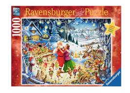 Ravensburger Santa's Party 1000 Piece Puzzle - $32.00