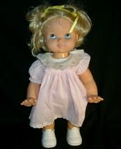 Vintage 1991 Hasbro Wanda Walk Doll Walks & Crawls Works Walking Blonde Girl Toy - $43.53