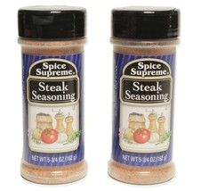 2 Spice Supreme® Steak Seasoning USA MADE cooking BBQ grill baking spice - $10.21