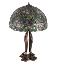 "30""H Trillium & Violet Table Lamp - $3,705.00"