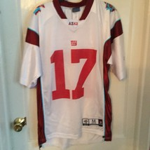 Super Bowl XLII NFL Football #17  Burress Jersey BY Reebok White - €443,80 EUR