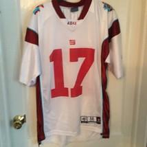 Super Bowl XLII NFL Football #17  Burress Jersey BY Reebok White - $9.607,85 MXN