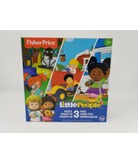 Fisher Price Little People 3 Pack Puzzles - New - $19.99