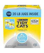 Purina Tidy Cats Clumping Litter with Glade Twin Odor Solution Pack (20 ... - $32.74